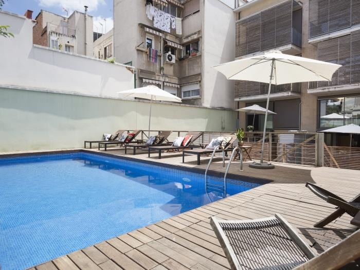 Terrace And Pool Apartment Near The Barcelona Centre | Barcelona Apartments  | My Space Barcelona