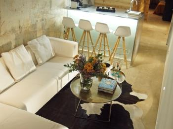 Loft in Barcelona in the city centre with terrace and swimming pool for 6 pax