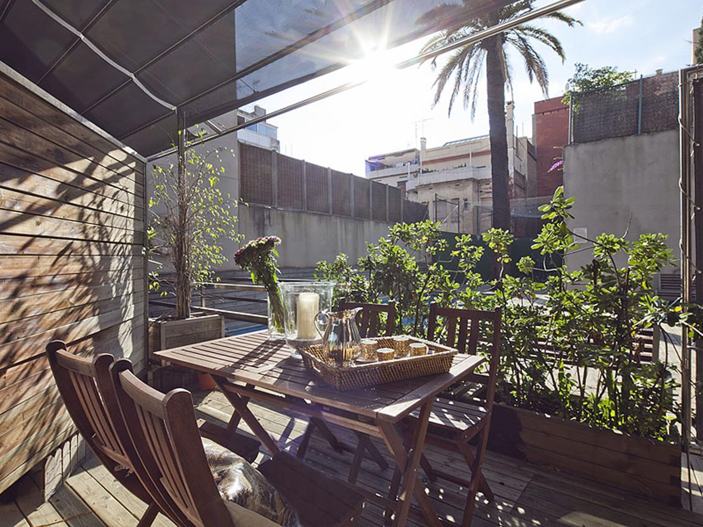 Apartment for rent for students in the centre of Barcelona with terrace - My Space Barcelona Apartments