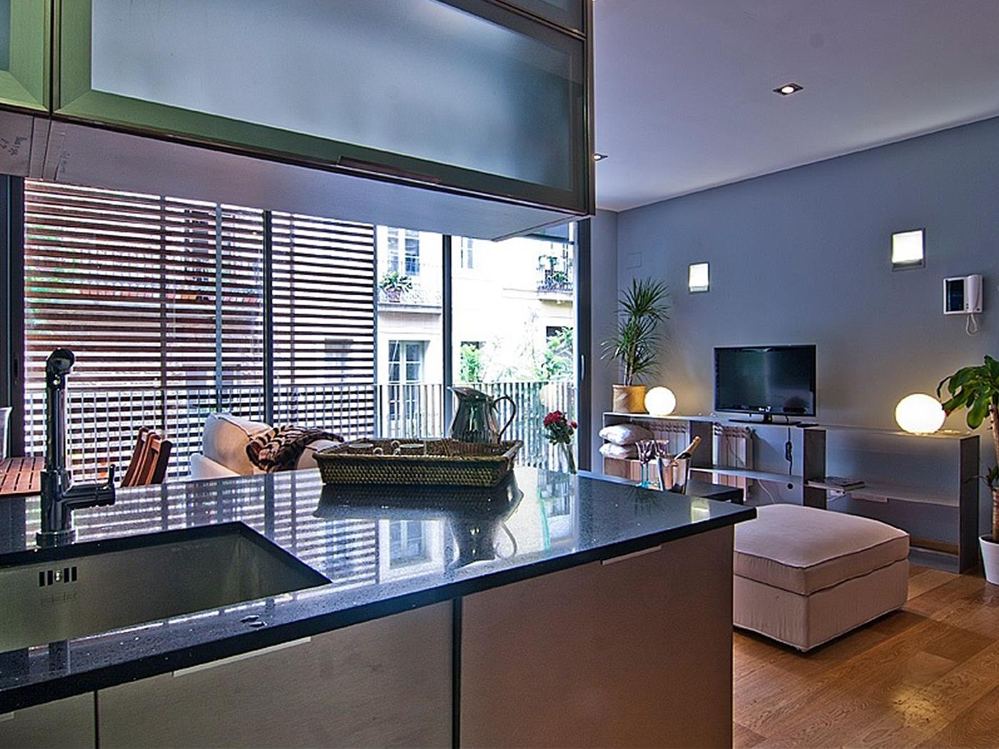 Penthouse in Gracia Pool and Terrace near Sagrada Familia for 6 - My Space Barcelona Apartments