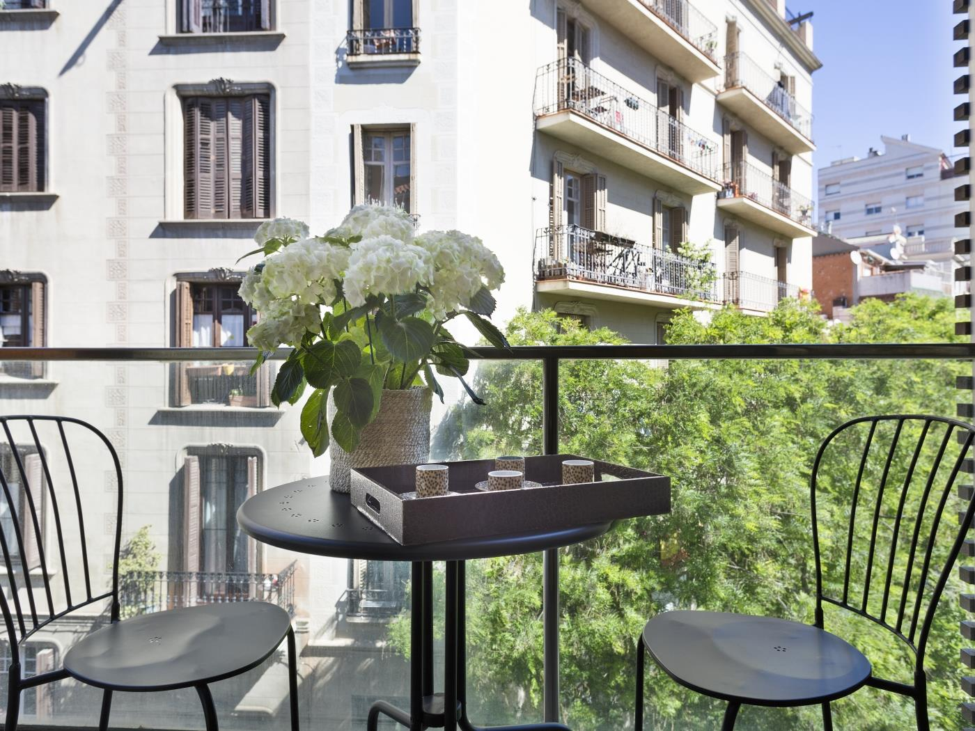 Barcelona Apartment in Sarrià Pedralbes with balcony for 6 - My Space Barcelona Apartments