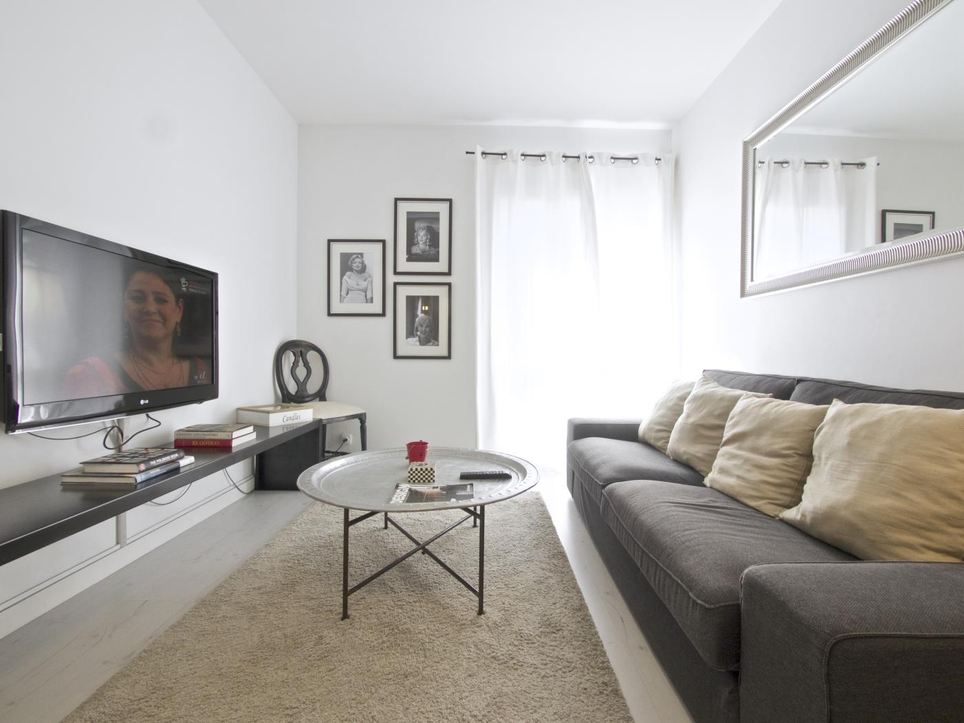 Comfy apartment in Les Corts in Barcelona with terrace for 5 - My Space Barcelona Apartments