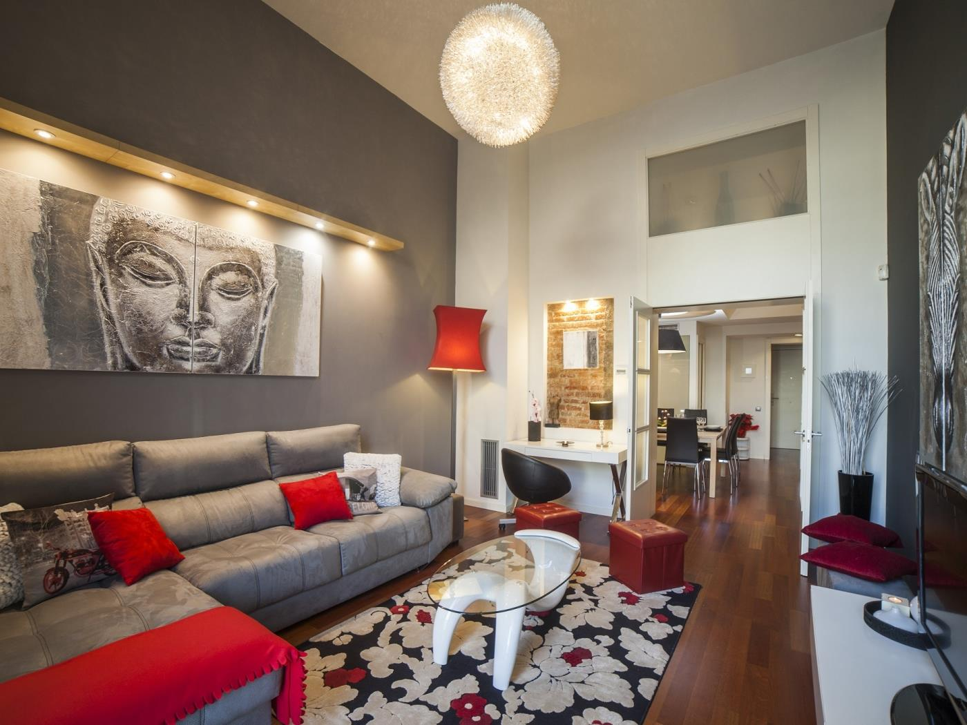 Modern Duplex Luxury Apartment in the heart of Barcelona for 10 - My Space Barcelona Apartments