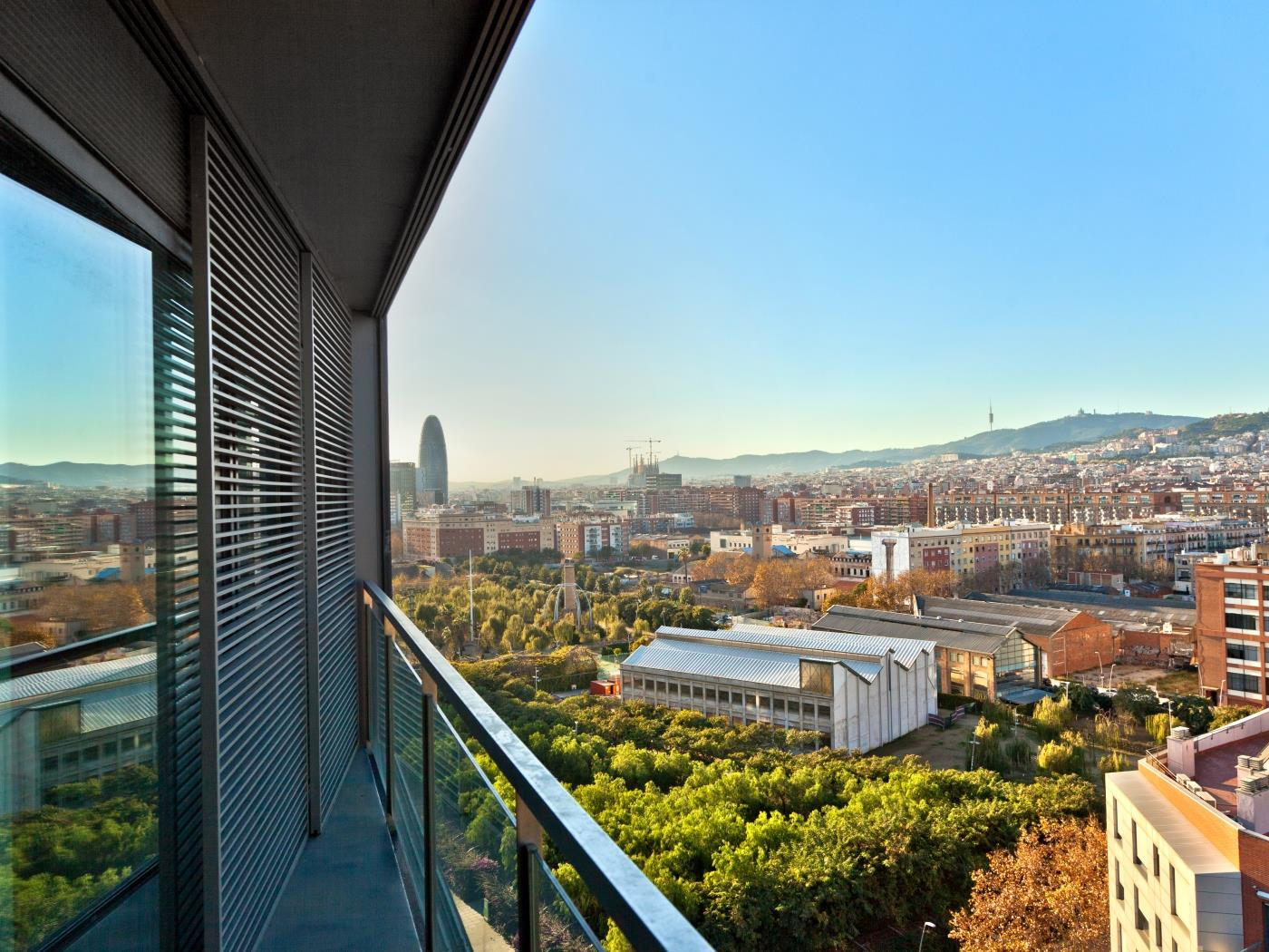 Luxury Beach View Duplex in Diagonal Mar for 8 - My Space Barcelona Apartments