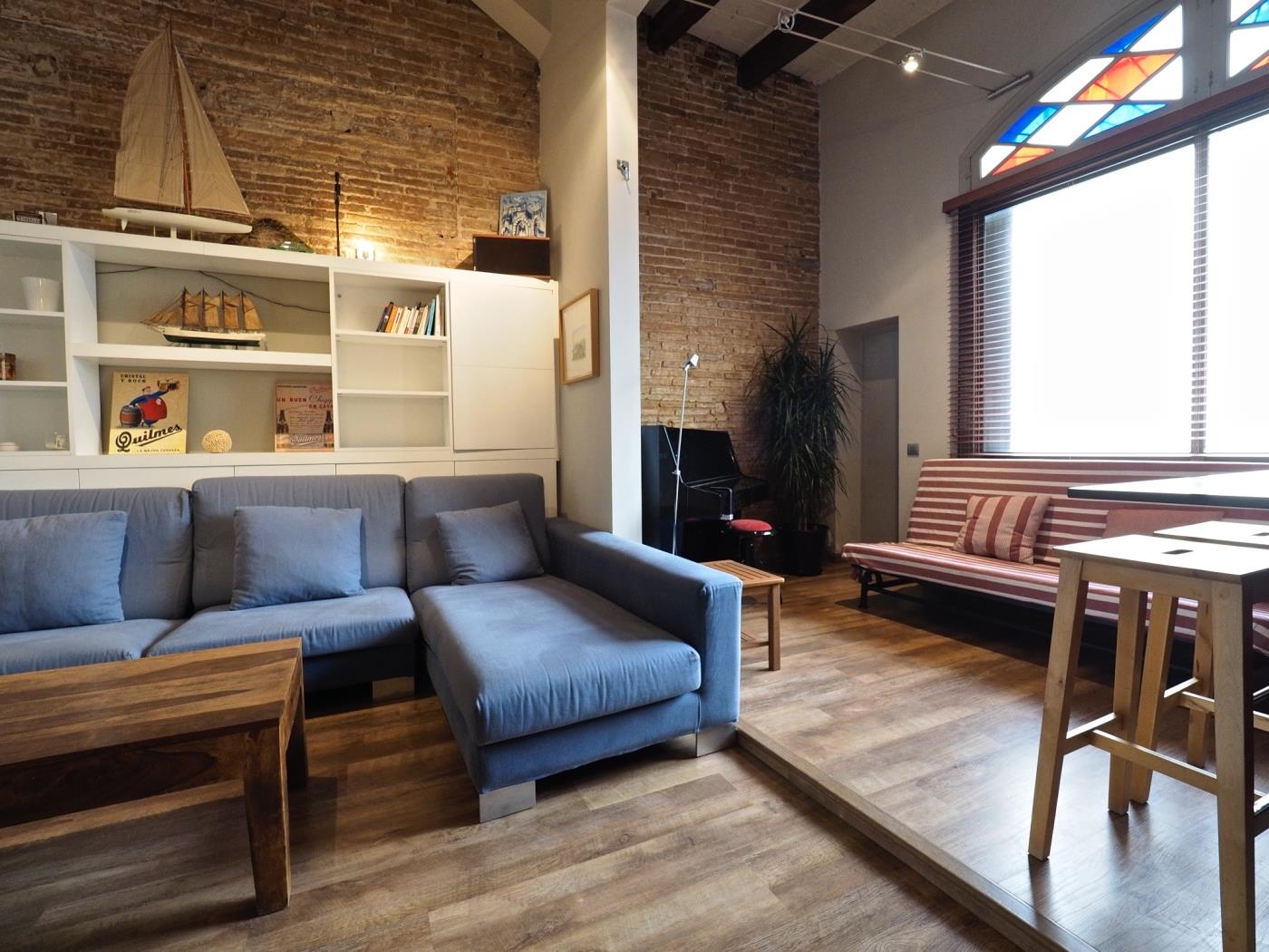 Stunning Private terrace apartament in Gràcia for 6 - My Space Barcelona Apartments