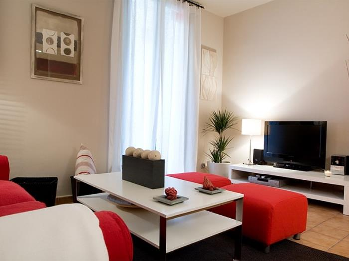 Apartment ideal for groups in Las Ramblas with balcony for 6 - My Space Barcelona Apartments