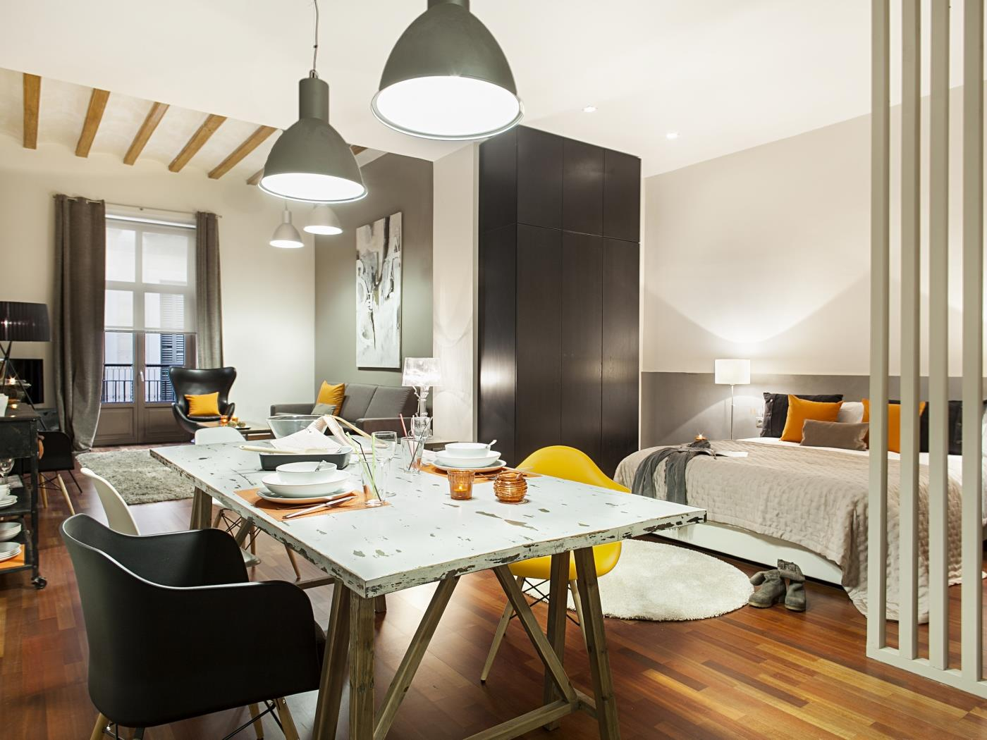 Loft right in the city centre of Barcelona in the cathedral for 4 - My Space Barcelona Apartments