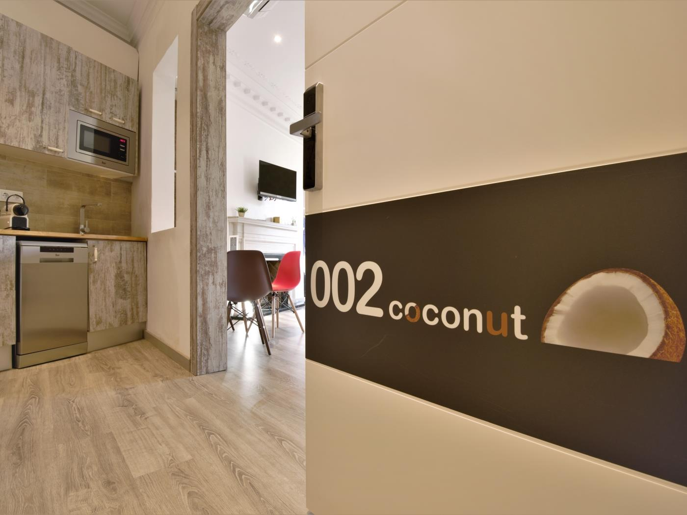 City Center Diagonal loft with beautiful views for 4 - My Space Barcelona Apartments