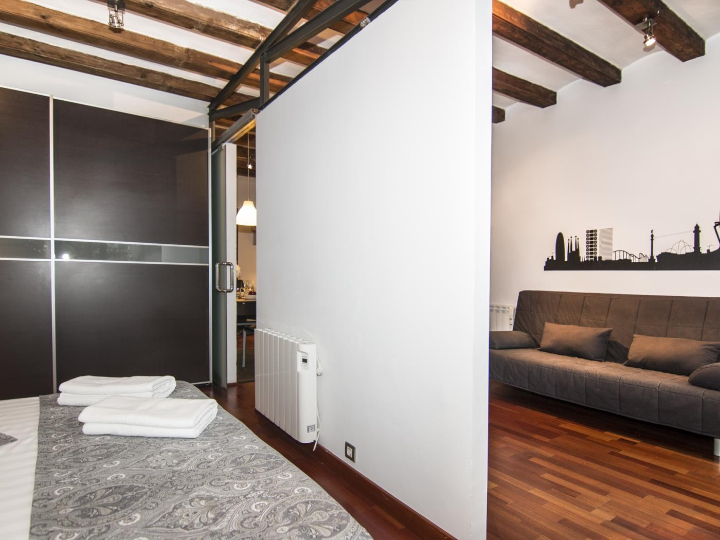 Apartment with an incredible location in the centre of Barcelona for 4 - My Space Barcelona Apartments