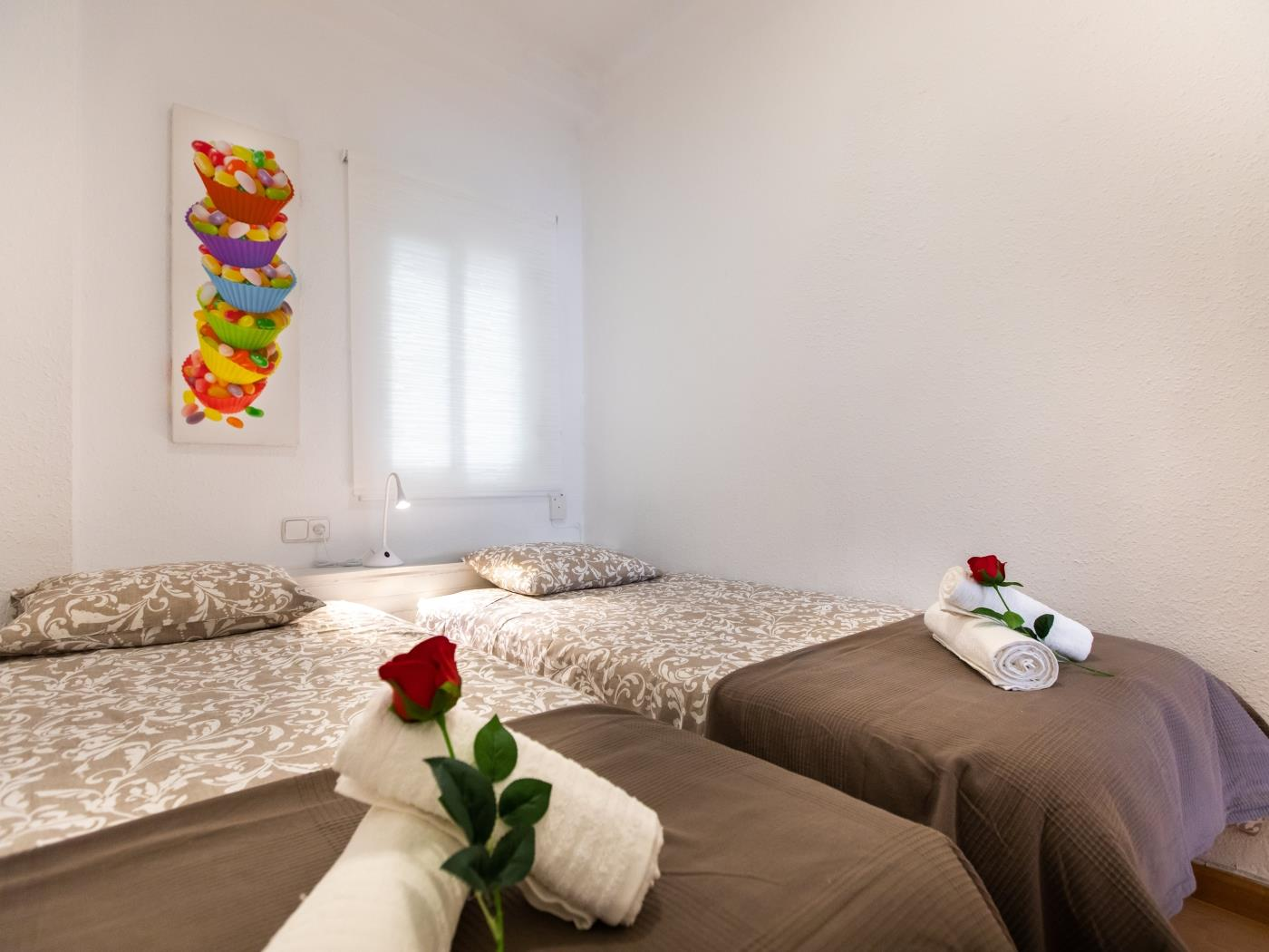Apartment ideal for groups in the Arc de Triomf for 6 - My Space Barcelona Apartments