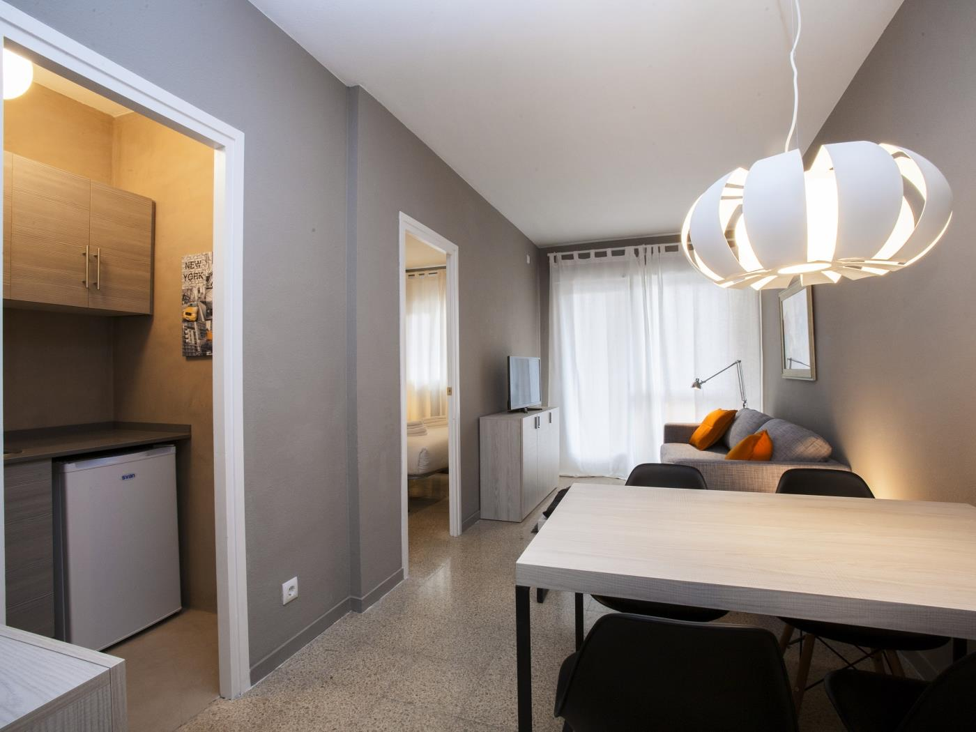 Cozy apartment ideal for small families near Sagrada Familia for 4 - My Space Barcelona Apartments