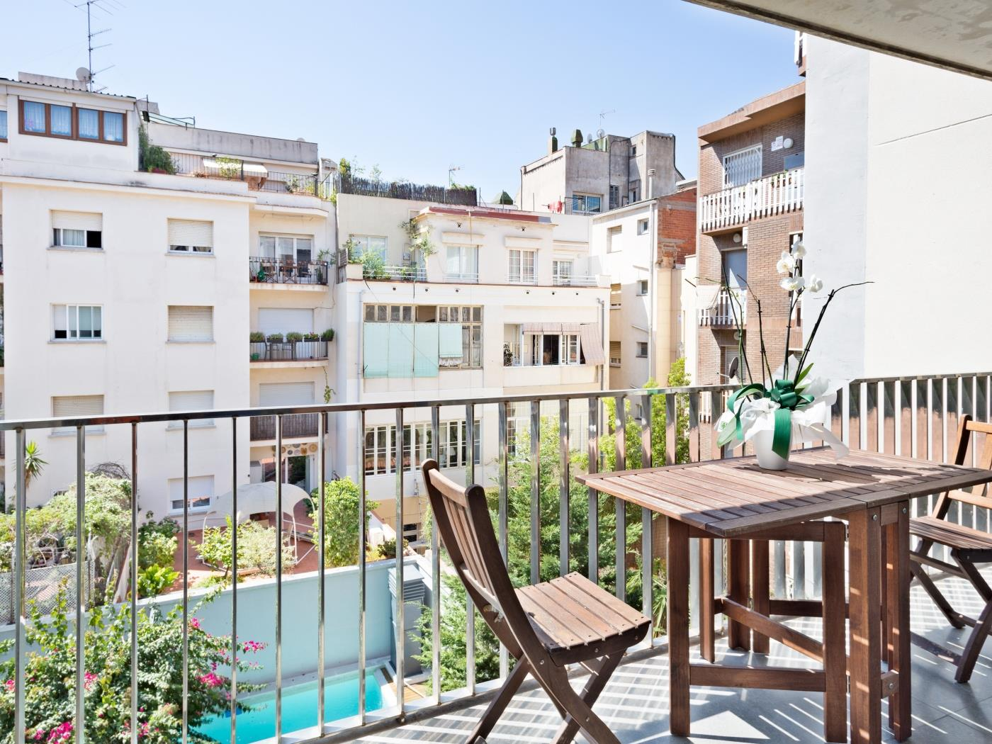 Executive Apartment with private terrace in Sarrià – Sant Gervasi - My Space Barcelona Apartments