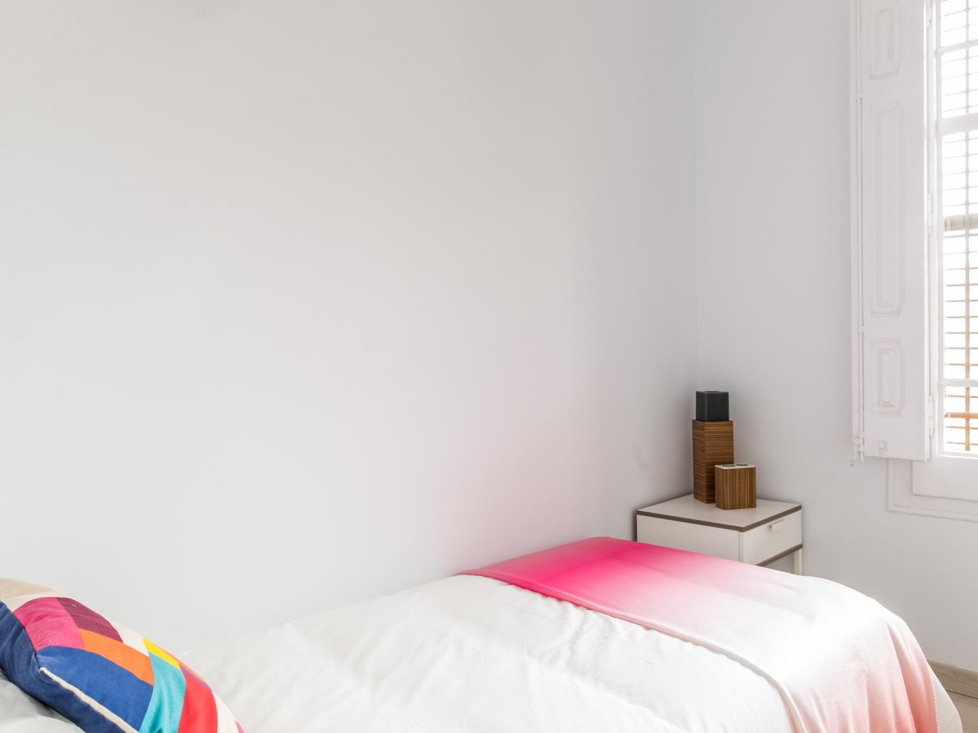 Spacious 2BR flat in central Barcelona with private balcony and shared terrace - My Space Barcelona Apartments