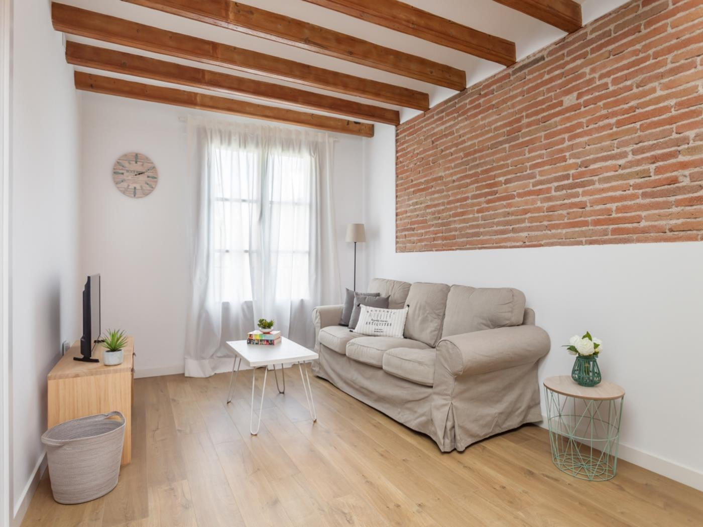 Cosmopolitan apartment in the city centre for long-term rentals for 4 - My Space Barcelona Apartments