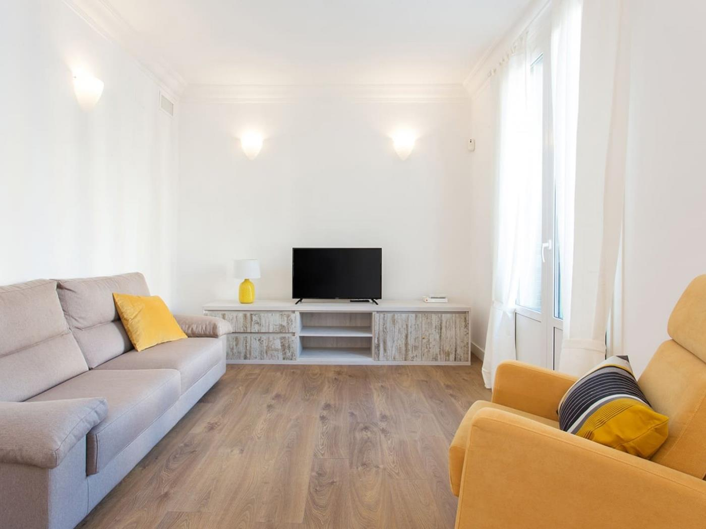 Modern bright apartment in the centre for monthly rentals for 5 - My Space Barcelona Apartments