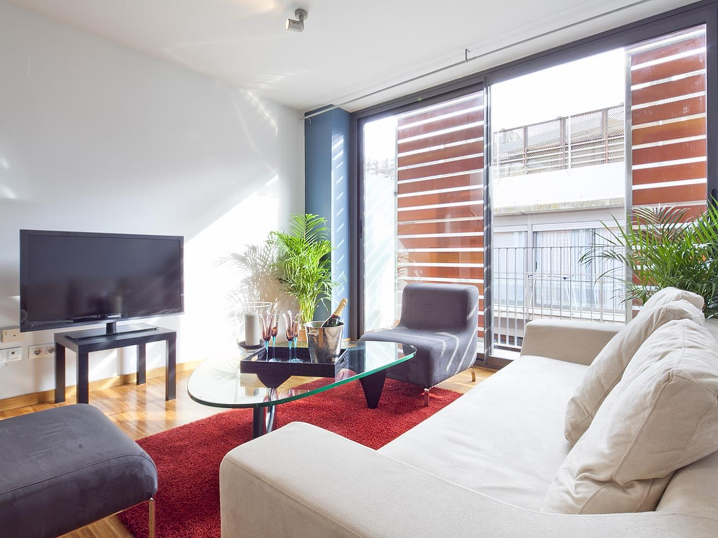 Bright room near Gràcia with a big close and access to a swimming pool - My Space Barcelona Apartments