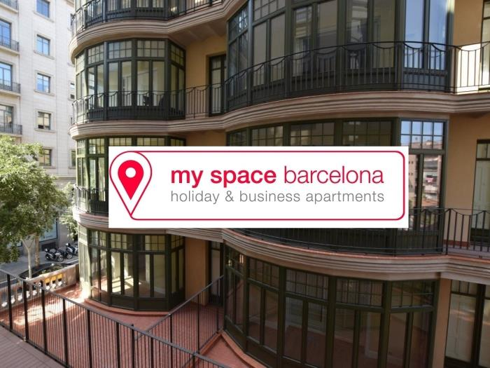 Apartment with 2 bedrooms for long-term rentals with amazing views to the city - My Space Barcelona Apartments