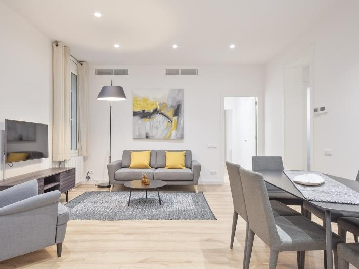 Beautiful recently refurbished furnished flat in Sant Gervasi - My Space Barcelona Apartments