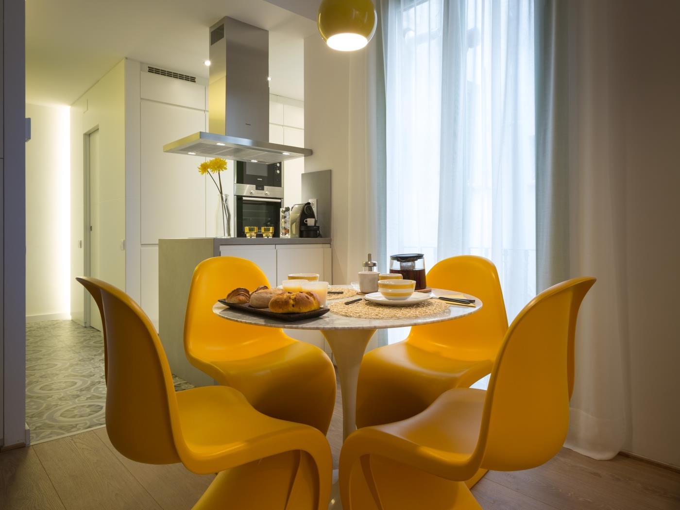 Beautiful apartment in the heart of Gràcia fully equipped and furnished - My Space Barcelona Apartments